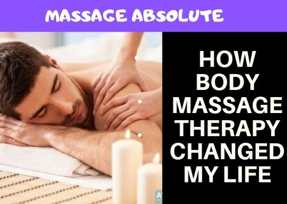 five areas where massage has changed the pace of my life