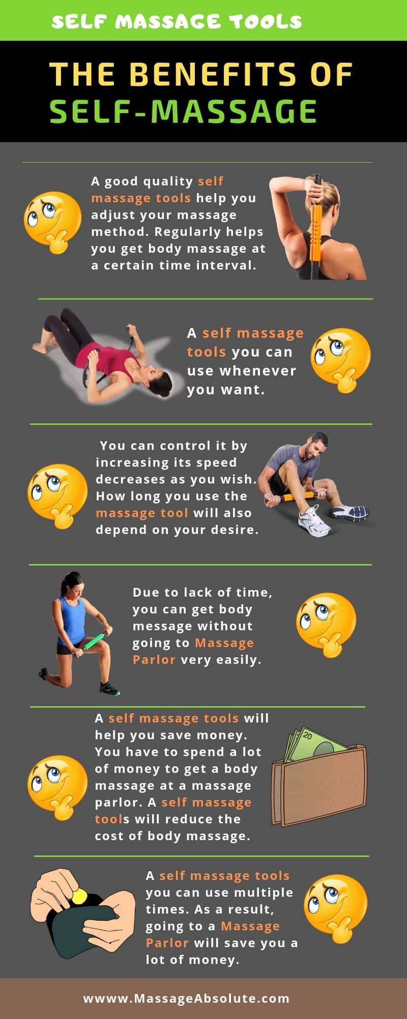 benefits of self massage tools