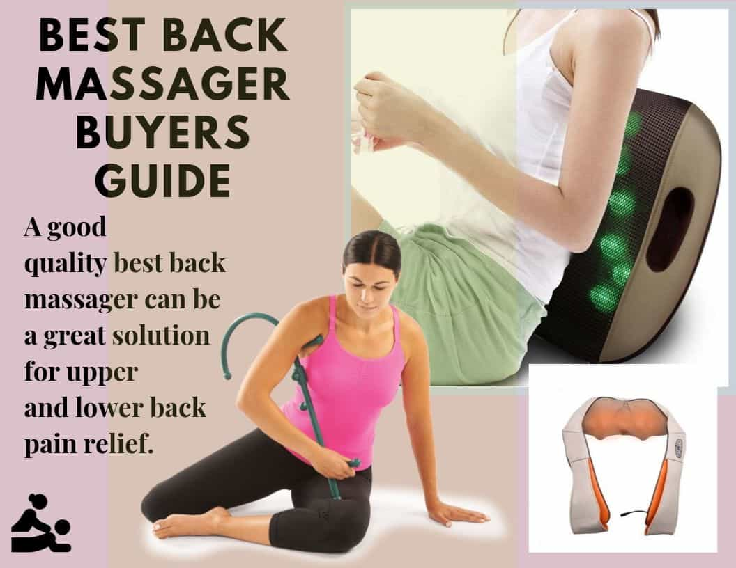 best handheld back massager